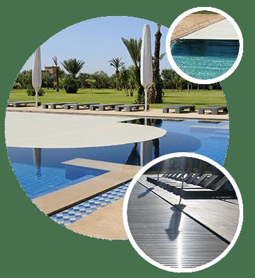 Couverture piscine installation de bâches ou de volets électriques